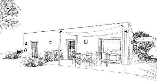 Bungalow085_3D Darstellung